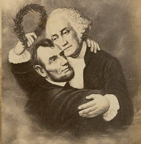 """Buchanan may have been the first gay President, but the award for the tallest gay President goes to Abraham Lincoln. He was known for often staying the night at soldiers' homes and shared a bed with his close friend Joshua Speed (though historians say it wasn't that uncommon for men to share a bed back then... you know, especially if they were gay). If only """"Honest Abe"""" was more honest with himself."""