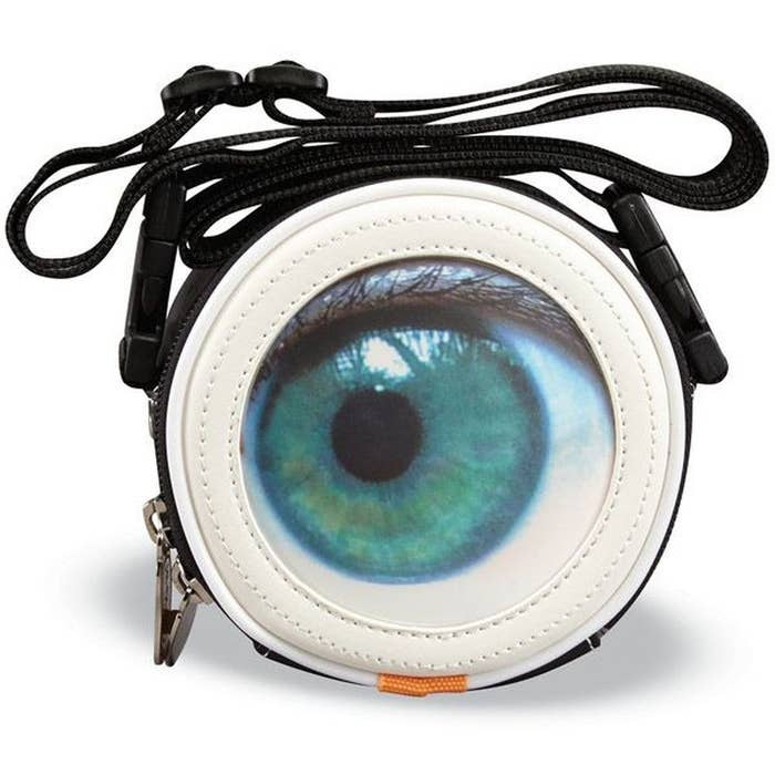 Nice try, big brother. But I see what you're doing here. A purse that blinks when you move? I don't think you guys need any extra help spying from us mere civilians.