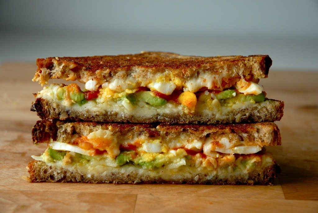 Breakfast grilled cheese is a category of foodstuffs that deserves more recognition. Get the recipe.