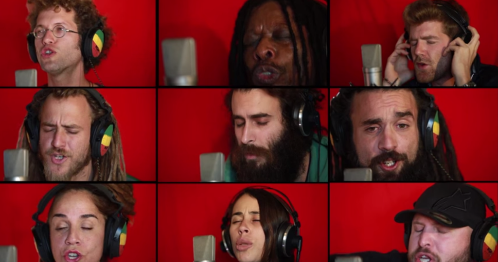 """This A Cappella Cover Of Bob Marley's """"Could You Be Loved"""" Is Rather Wonderful"""