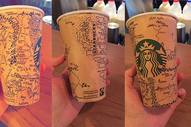 This Lord Of The Rings Fan Drew An Incredible Map Of