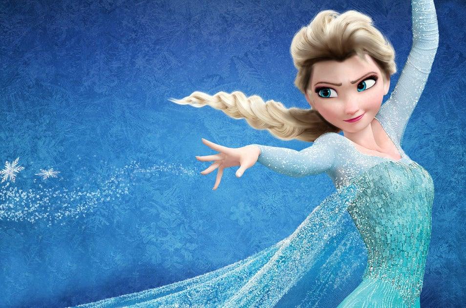 Se as princesas da Disney tivessem cabelo realista