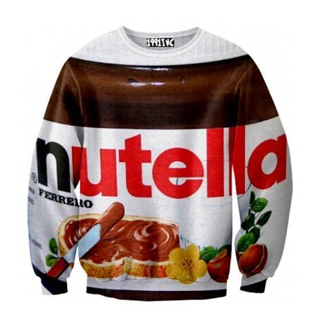 Nutella Sweatshirt, $19