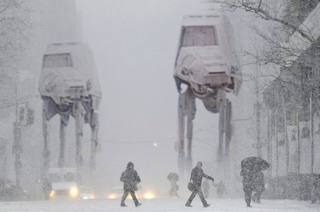 If New York City Got Hit With Blizzards From Famous Movies