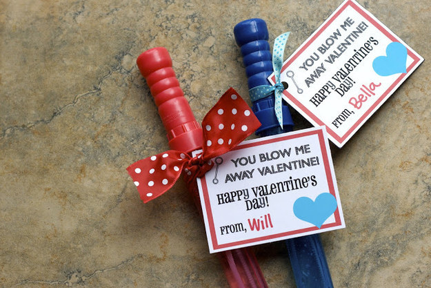 image about You Blew Me Away This Year Free Printable referred to as 23 No-Sweet Valentines Youngsters Will Enjoy Even Excess Than Sugar