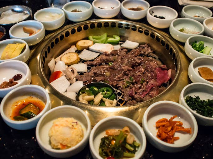 A beginners guide to eating at a korean restaurant ah bulgogi the queen of the prom this is another well forumfinder Images
