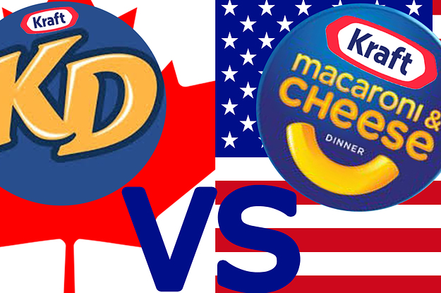 Canadian Kd Vs  American Mac  U0026 39 N U0026 39  Cheese