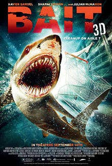 A giant tsunami hits and sharks are everywhere, especially in a grocery store currently being robbed. This one went a little long but well worth it. And Cole from Charmed is in it.