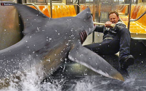 The second installment of the popular Sharknado series make the list but to me the first one will always be better.