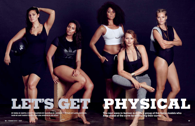 This Is What A Plus Size Fitness Fashion Shoot Looks Like
