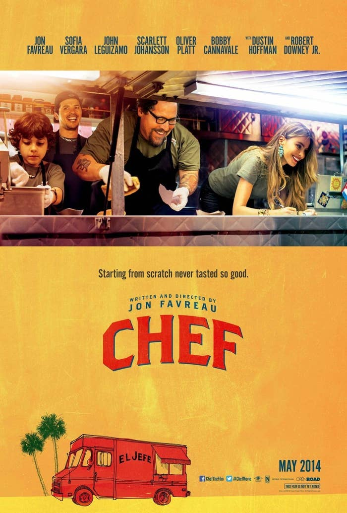 A chef losing his job becomes a blessing in disguise that prompts him to start a food truck. Best thing about it: Who's in it: Jon Favreau, Sofia Vergara, Jon LeguizamoNetflix on demand: No