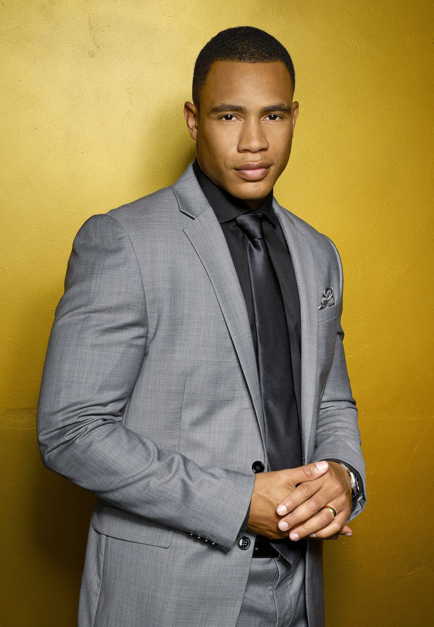 Lucious and Cookie Lyon's eldest son Andre (Trai Byers) on Empire