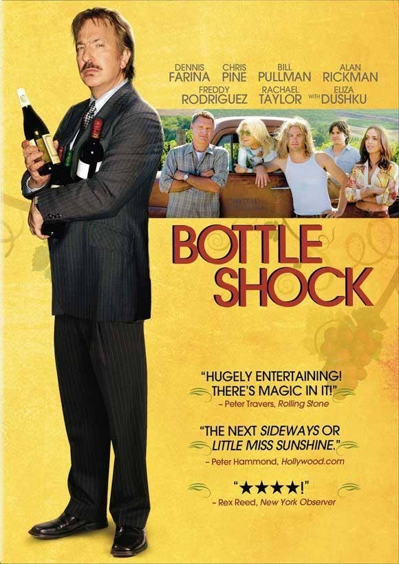 """Okay, so it's technically a """"wine"""" movie, not a """"food"""" movie, but the story of how a little California vineyard takes on the French wine industry in an attempt to put American vintners on the map is both heartwarming and mouthwatering. So it's on the list. Best thing about it: You feel like a total sommelier by the end. Who's in it: Alan Rickman, Chris Pine, Bill PullmanNetlfix on demand: Yes"""