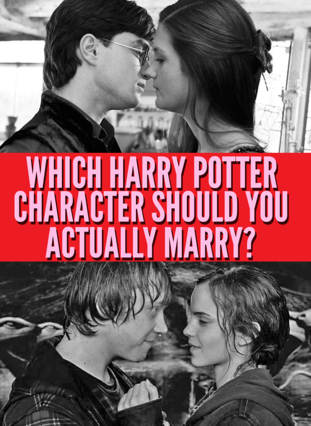 which harry potter character should you actually marry. Black Bedroom Furniture Sets. Home Design Ideas