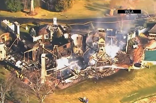Dry Christmas Tree Blamed In Maryland Mansion Fire That Killed 6