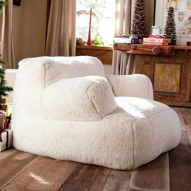 Curl Up On This Giant Pillow Chair