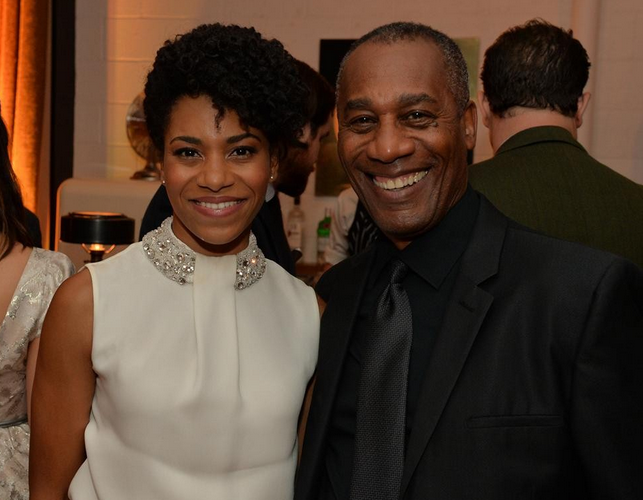 McCreary with Joe Morton of Scandal