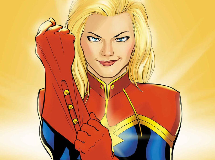 Modern Captain Marvel