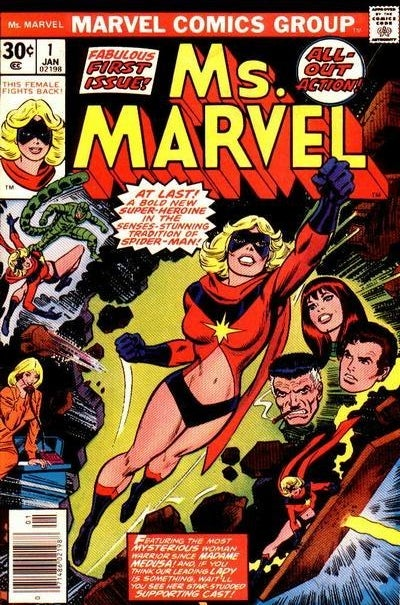 Cover of Ms. Marvel