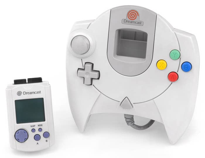The Sega Dreamcast is an awesome console but its controller had some of the worst design choices possible. It only had one analog stick which had a really bad dead spot in the middle, a rigid d-pad that would cut into your fingers, only had six buttons when other competing controllers had eight and worst of all its wire came out of the bottom. And, don't get me started on the VMU.