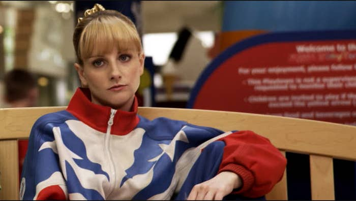 This brash comedy about a has-been gymnast, co-written by and starring The Big Bang Theory's Melissa Rauch, may have kicked off Sundance on a decidedly mixed note, but people are still talking about its outrageous third-act sex scene. After receiving some disheartening news, Rauch's character has an ill-advised fling with her nemesis, a former fellow Olympic gymnast played by Sebastian Stan. The pair go back to her hotel room and proceed to have athletic sex — literally. They do flips. They do lifts. They do turns. Rauch ends up bent over a table, and Stan does a few pommel horse moves on her back before getting back to it. Rings are involved. It's incredibly raunchy and very, very funny. The scene was made possible with the help of some game body doubles, leaving us all wondering whether or not it's Stan or his stand-in who's flexible enough to lift his leg in a heel stretch above his head. —Alison Willmore