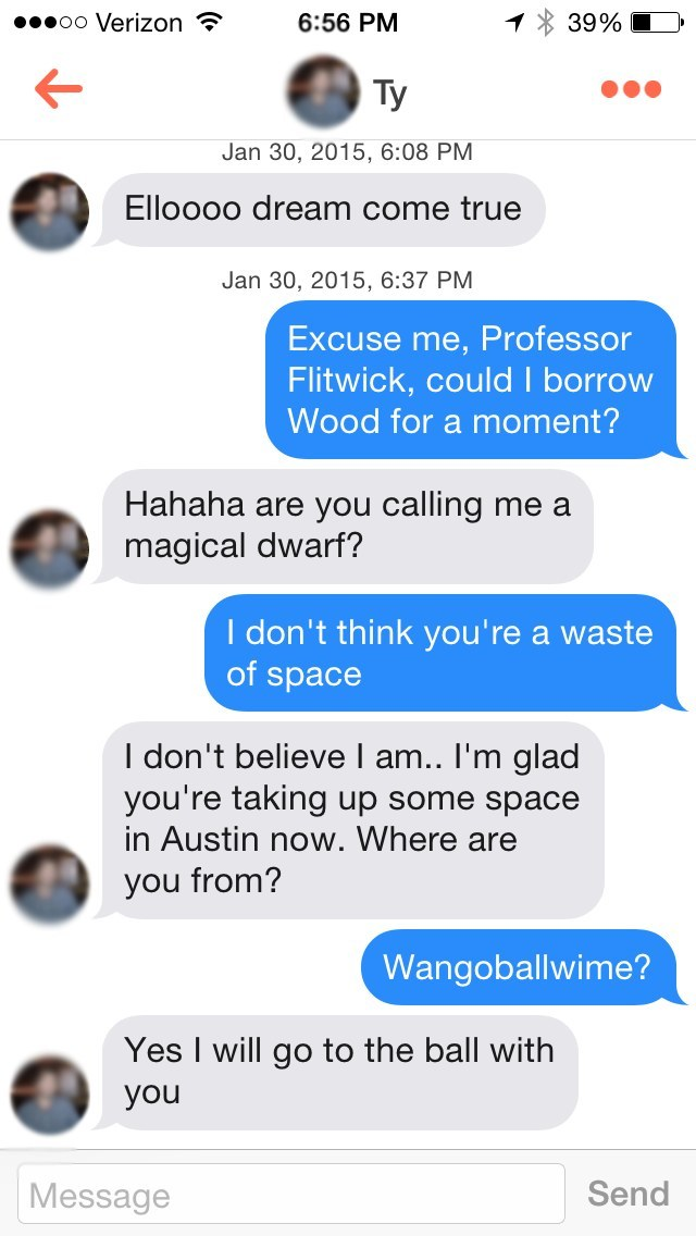 how to respond to how are you tinder