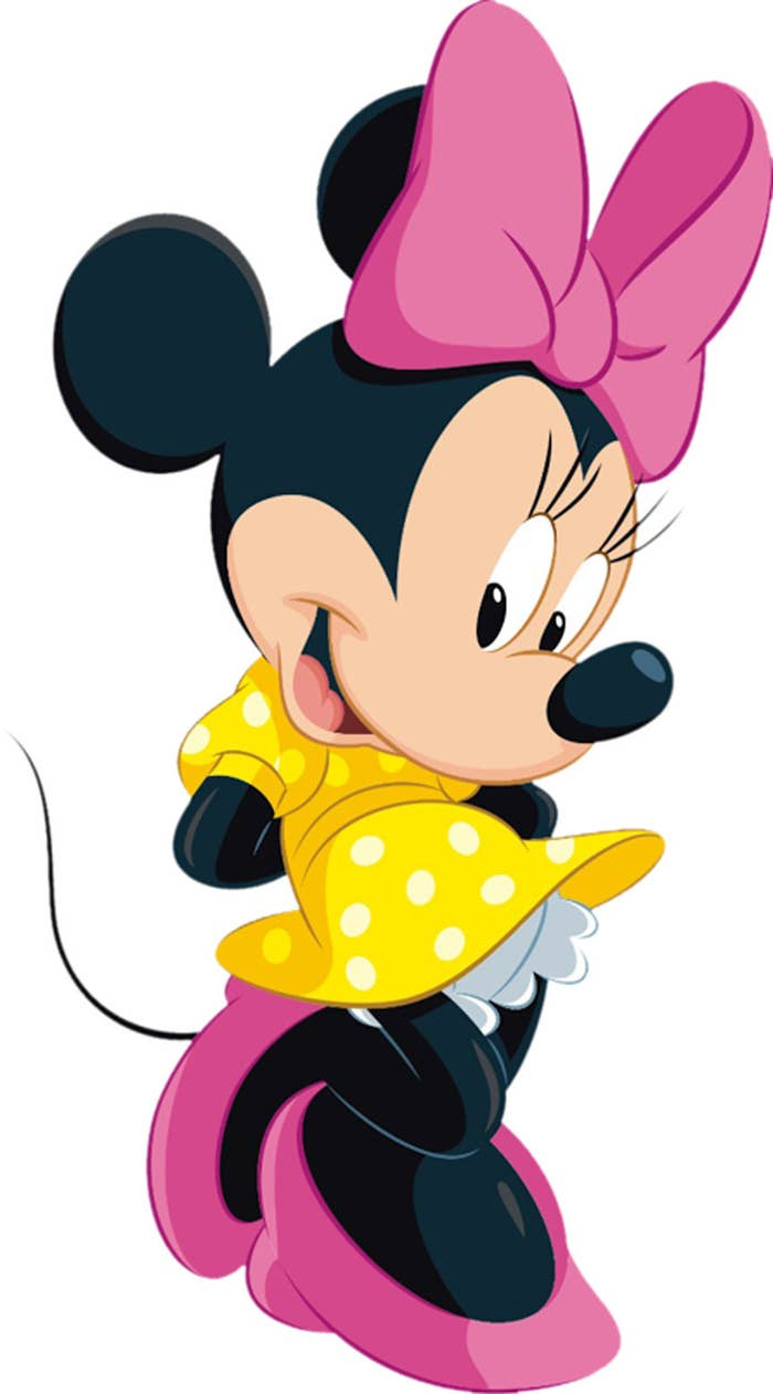 ...that removing Minnie Mouse's eyelashes...