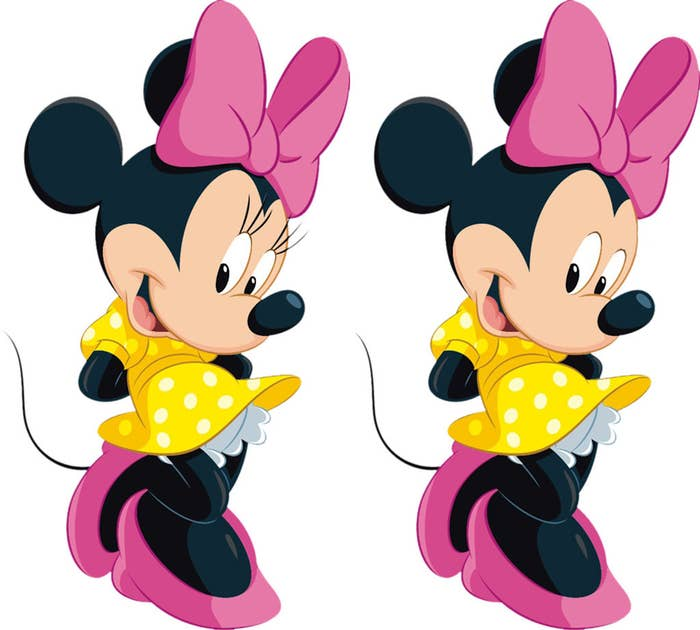 "...between ""Minnie Mouse"" and ""Mickey Mouse in drag?"""