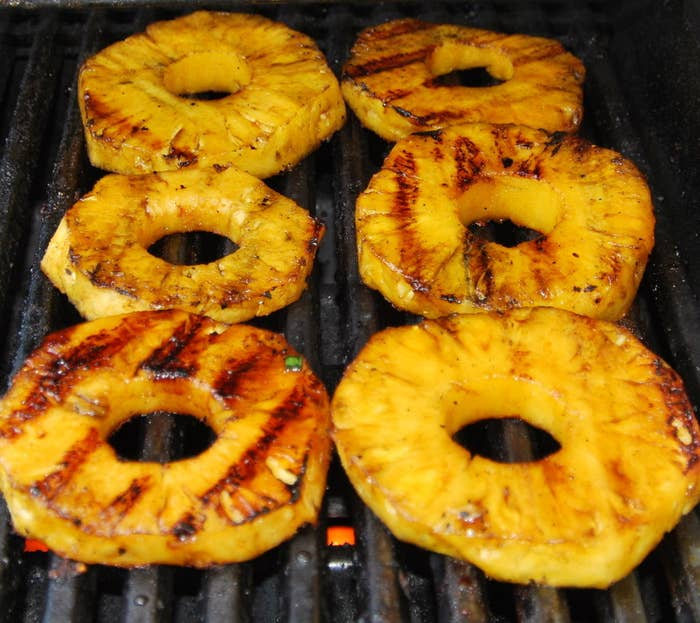 Slice them into rings and, yup - you've got sweet Caribbean 'burgers'.