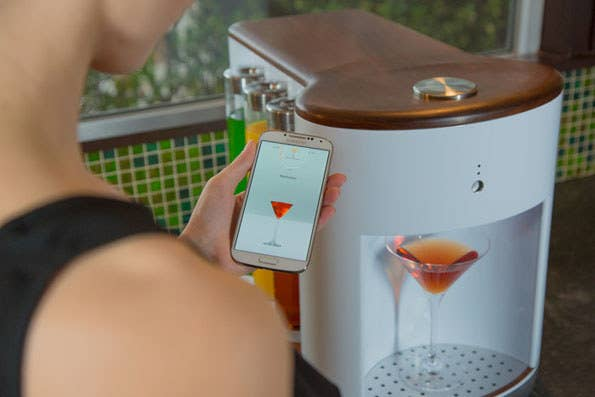 Getting drunk has never been more convenient.