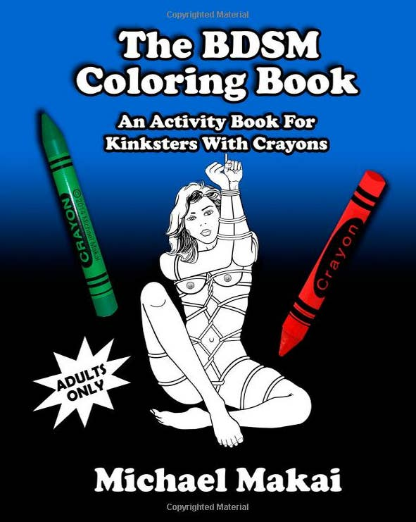 19 The BDSM Coloring Book An Activity For Kinksters With Crayons
