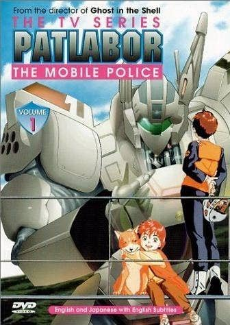 In Patlabor the robots aren't being used for combat but are instead used for law enforcement. Despite having some slow pacing in the begining this series does take great care to explain the backstory and intricacies of the mechs. Despite there being two different continuities both the movies and TV series are really well done and both should be watched.