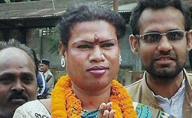 """Madhu, who was an independent candidate, beat out her closest competition, the Bharatiya Janata Party's Mahaveer Guruji, by 4,537 votes, NDTV reported.""""People have shown faith in me. I consider this win as love and blessings of people for me. I'll put in my best efforts to accomplish their dreams,"""" said Kinnar after her electoral victory.Madhu completed her studies in the eight grade, after which she began taking up odd jobs and made a living by putting up dance and musical performances on trains.""""I only spent Rs. 60,000-70,000 from my earnings during my campaign. It was the public support that encouraged me to enter the poll fray for the first time and because of their support only, I emerged as the winner,"""" she added.The Congress Party reportedly described her successful candidacy as """"BJP's loss, not Madhu's win.""""""""There was no Modi wave in Raigarh this time. People of Raigarh were fed up with the corruption of BJP, hence they voted for Madhu,"""" said Raigarh district Congress President Narendra Negi. """"It is not Madhu Kinnar's victory, but it's a loss of BJP.""""""""We accept the decision of people,"""" said BJP district president Rajesh Sharma."""