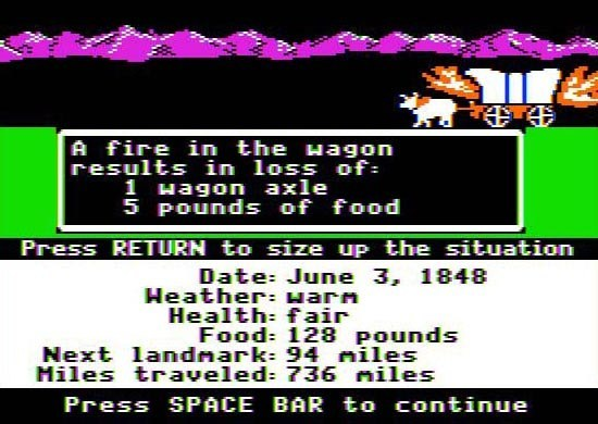 Over 2,400 MS-DOS Games — Like Oregon Trail — Can Now Be Played Online