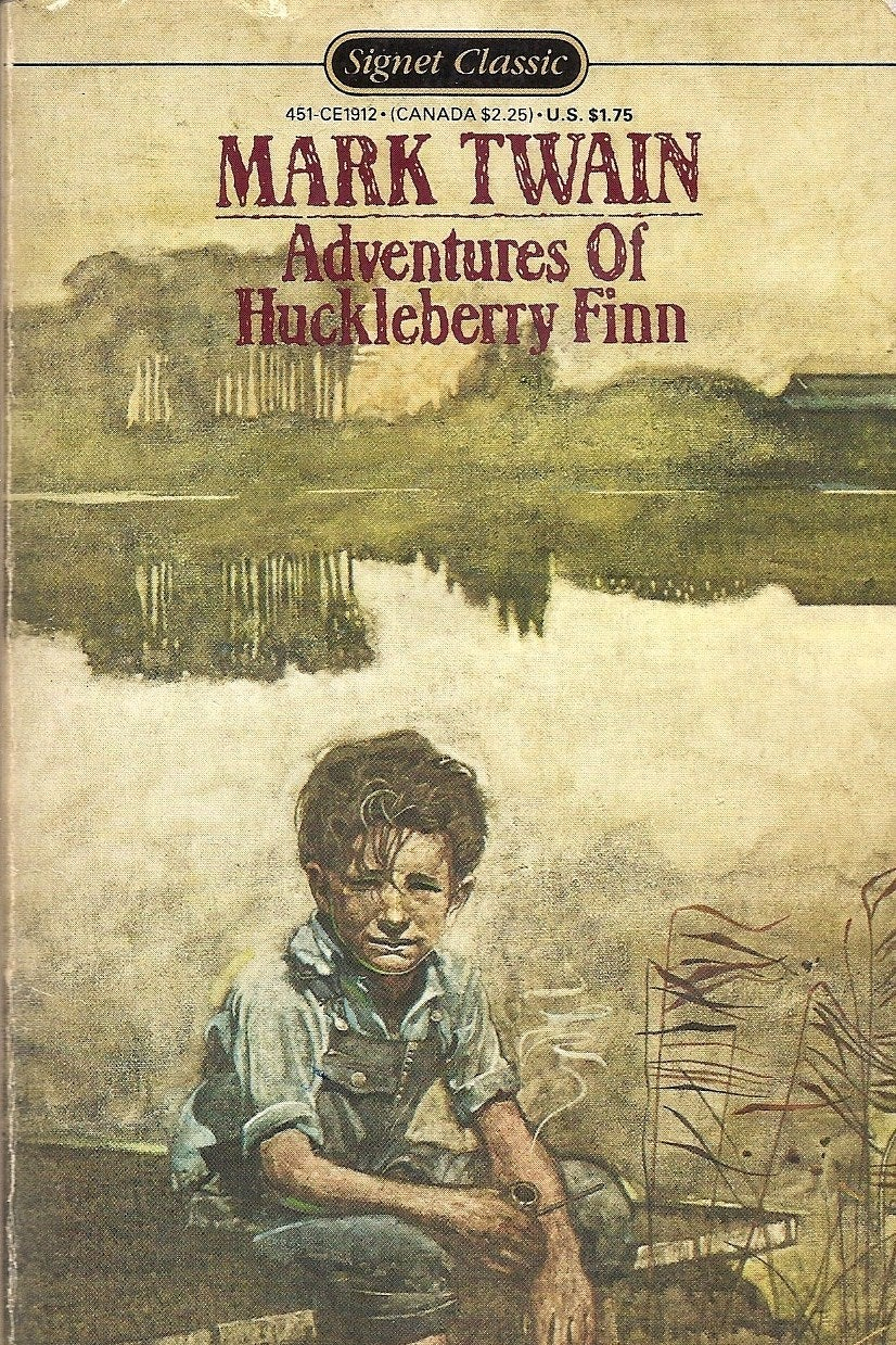 the theme of teaching in the adventures of huckleberry finn a novel by mark twain Whether real or symbolic, the family and the relationships within family units are a frequent theme in mark twain's classic adventures of huckleberry finn because there are many parallels between the characters and events within huck finn and the events and individuals surrounding twain's life.