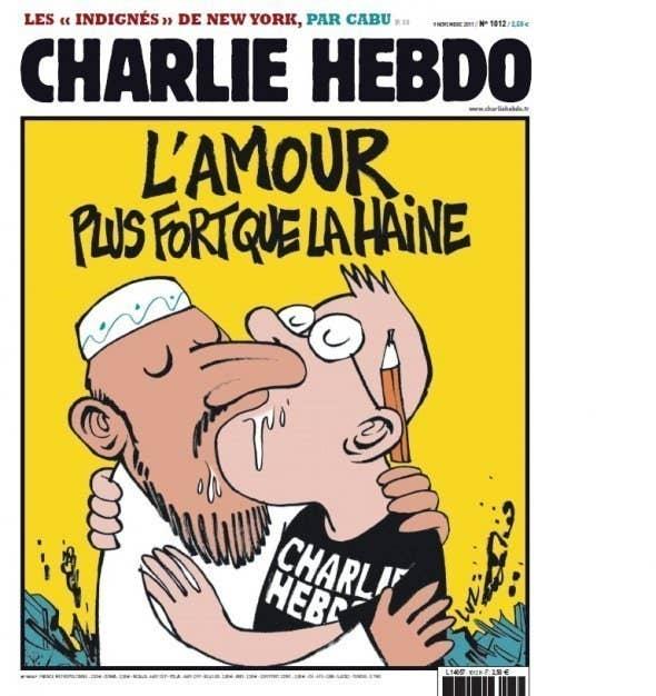 Massive Manhunt Underway In Paris For Gunmen Who Killed At - 24 powerful cartoon responses charlie hebdo shooting