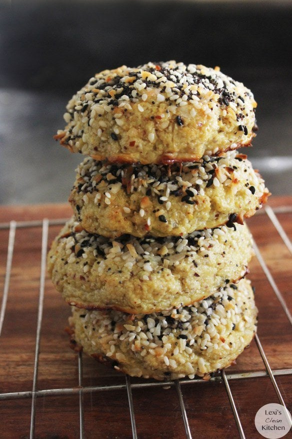 """I mean, the """"everything"""" overpowers the """"bagel"""" either way. Recipe here."""