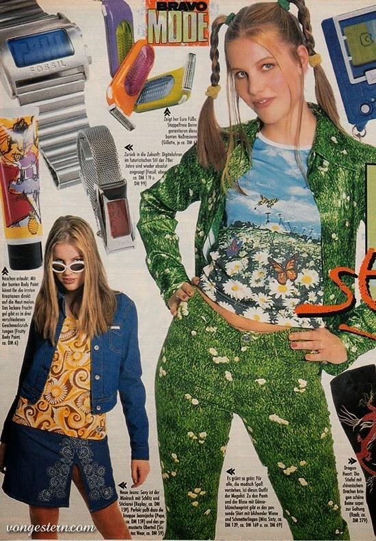 Top mode die du in den 90ern gerne getragen h ttest for 90er mode damen