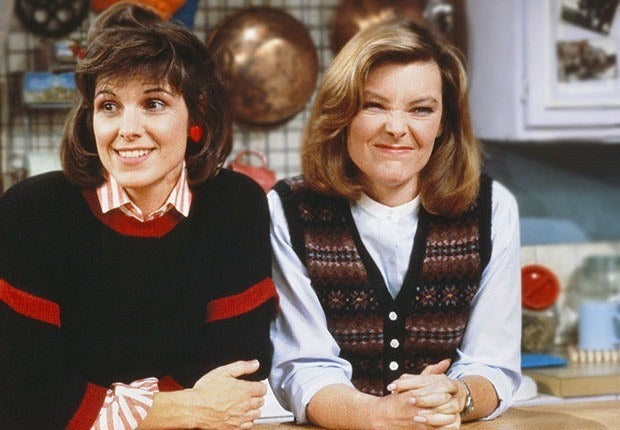 1984 brought us Kate (Jane Curtin—yes, the one from classic SNL) and Allie (Susan Saint James): These two recently divorced mothers decide the best way to cope with their circumstances is to move themselves and their kids in together and call it a blended family. Initially Kate takes on the role of the working parent while Allie stays home with the kids. Later in the series, the women start their own catering business. Although in the last season of the show Allie remarried, creating a bizarre woman-woman-man household and a shark jumping moment, the show is memorable for its depictions of the titular women attempting to balance the demands of work, motherhood, and modern relationships. Modern family, indeed.