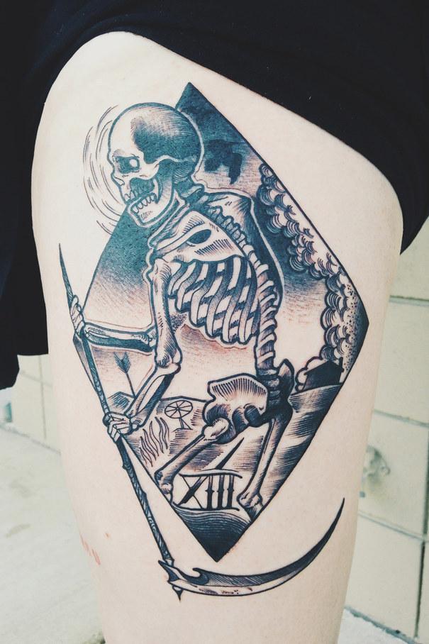 19 Powerful Tarot Tattoos