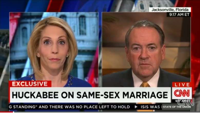 Mike Huckabee Likens Being Gay To Drinking And Swearing