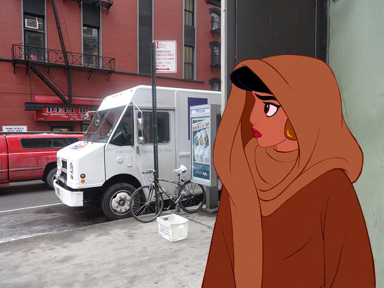 Humans Of New York Reimagined With Disney Characters Is Perfect