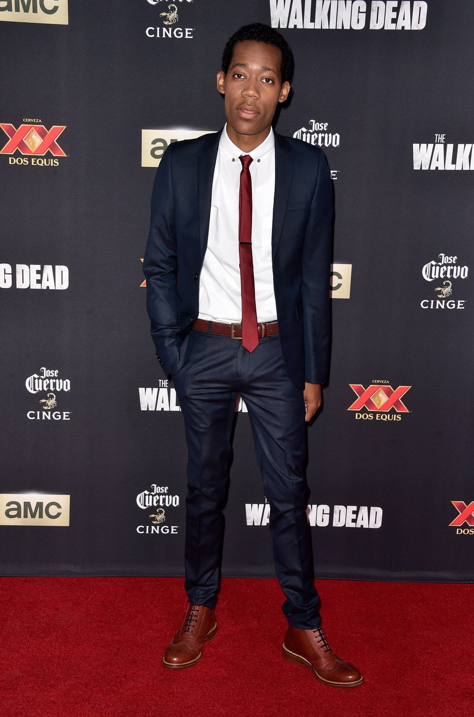 Tyler James Williams from The Walking Dead and Dear White People