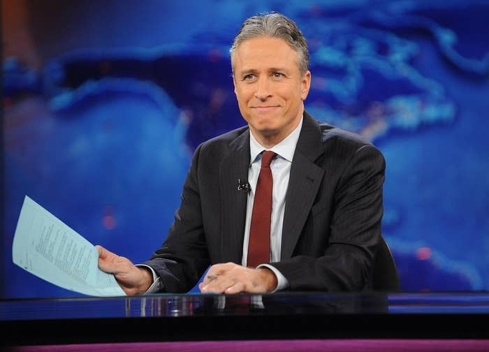 "19 Reasons Why We're Thankful For Jon Stewart On ""The Daily Show"""
