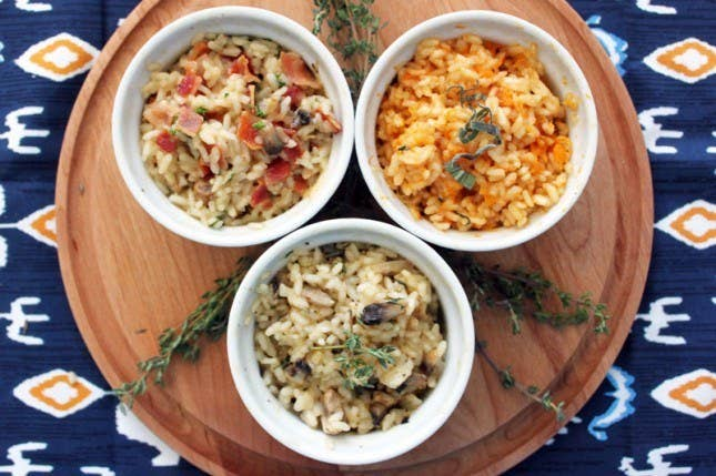 """So much easier than standing over a stove, """"stirring constantly."""" Check out THREE awesome recipes here."""