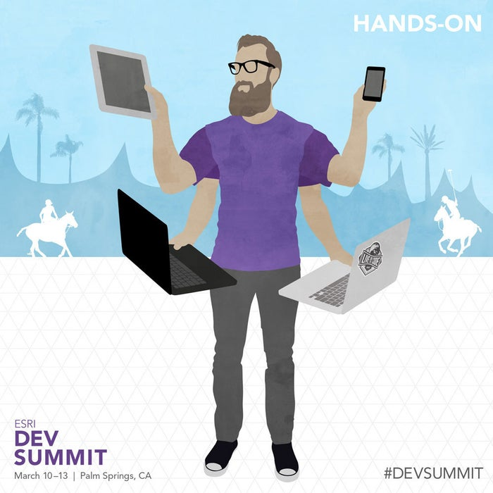 Hands-on learning is always better, right? DevSummit isn't about sitting in an auditorium all day--it's about moving around, trying new programs, and getting ideas for creating new apps.