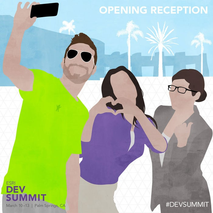 Nothing beats the energy of seeing your old friends and meeting new ones. The opening reception is a wonderful way to get some real face time.