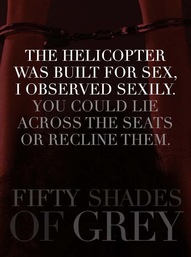 Best sexual quotes from 50 shades of grey