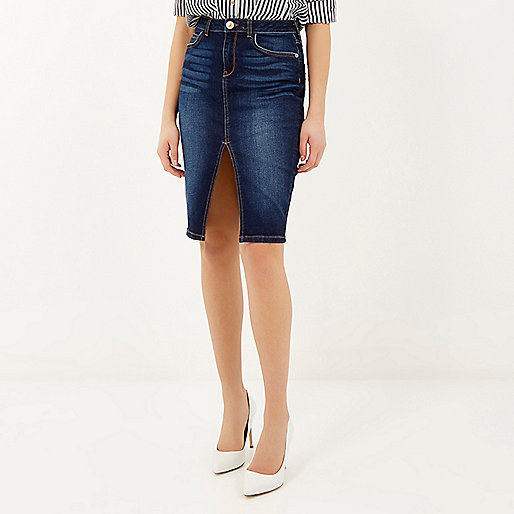 16 Rad Denim Skirts That Are Making A Comeback