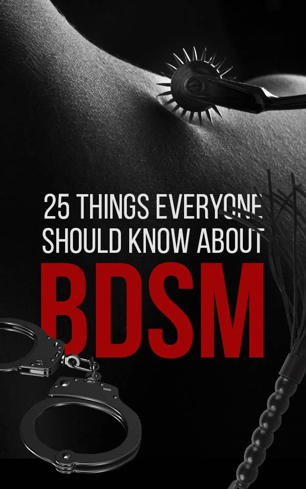 25 Facts About BDSM That You Won\'t Learn In \